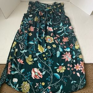 Women's LOFT Floral Dress Medium